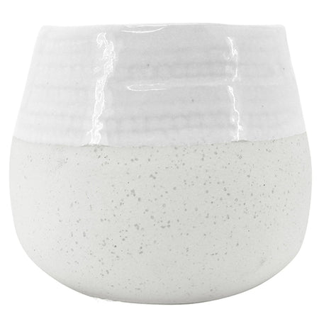 Diggle White Planter Large