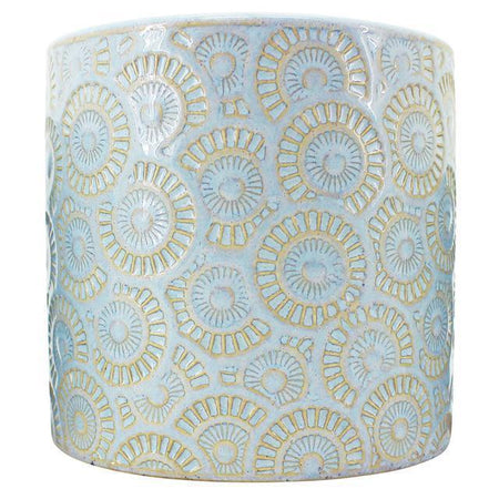 Raj Light Blue Planter Medium