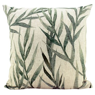 Faded Greenery Cushion Square