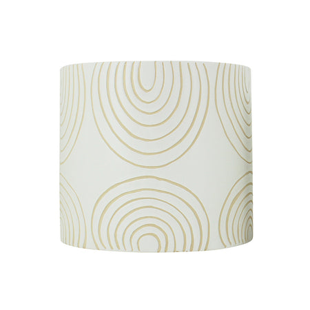 Ludic Planter With Pattern White Small