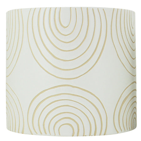 Ludic Planter With Pattern White Large
