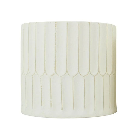 Pare Planter Natural White Medium
