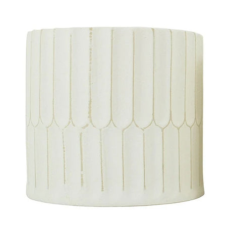 Pare Planter Natural White Large