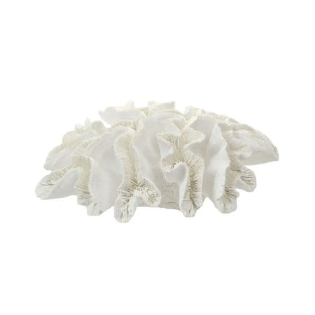 White Resin Anemone Coral 28x10cm