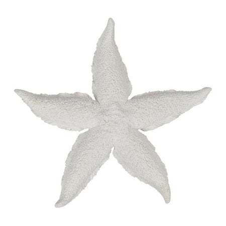 White Resin Starfish Sculpture Large