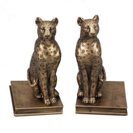 Leo Leopard Set of 2 Bookends
