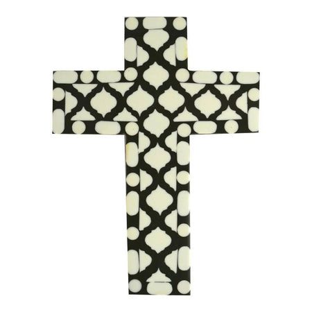 Hepburn Resin Cross Dark Green