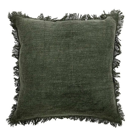 Peta Cotton Cushion Green