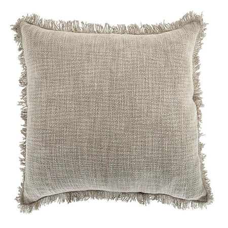 Peta Cotton Cushion Beige