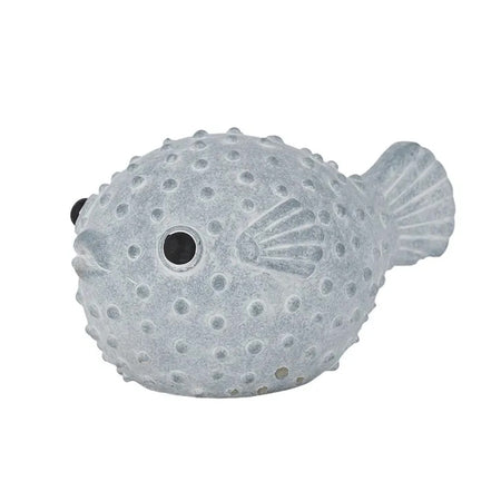 Bobbles Fish Cement Sculpt Large Blue