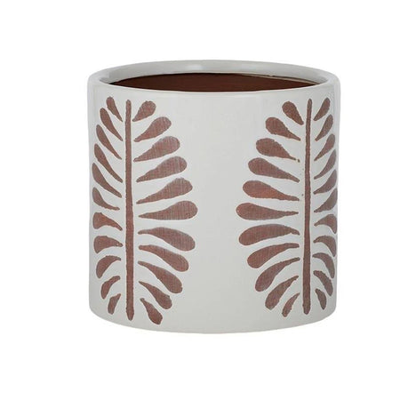 Leni Ceramic Pot White/Terracotta
