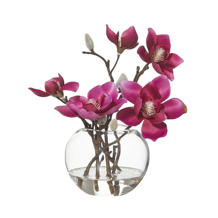 Magnolia Sphere Vase Pink Small