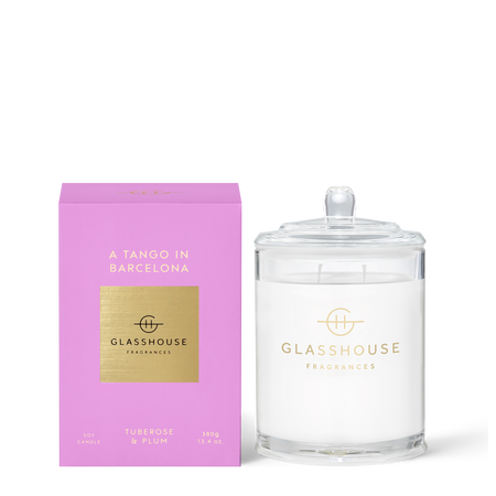 Glasshouse Fragrances A Tango In Barcelona 380g Candle