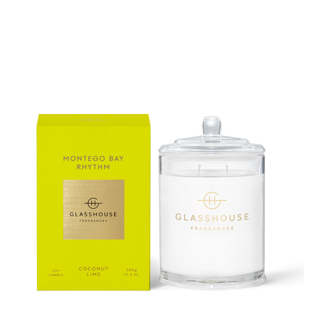 Glasshouse Fragrances Montego Bay Rhythm 380g Candle