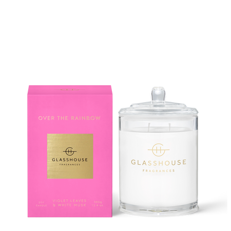 Glasshouse Fragrances Over The Rainbow 380g Candle