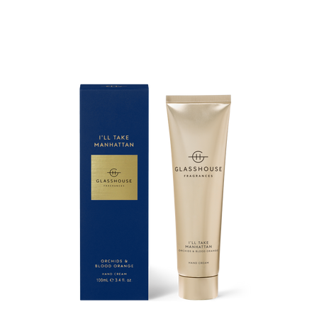 Glasshouse Fragrances Ill Take Manhattan 100mL Hand Cream