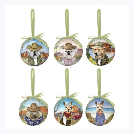 Sunny Outback Bauble Set