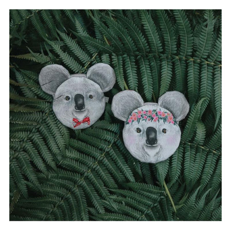 Koala Coin Purse Barb