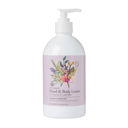 Therapeutic: Eucalyptus & Lavender Hand Lotion 500ml