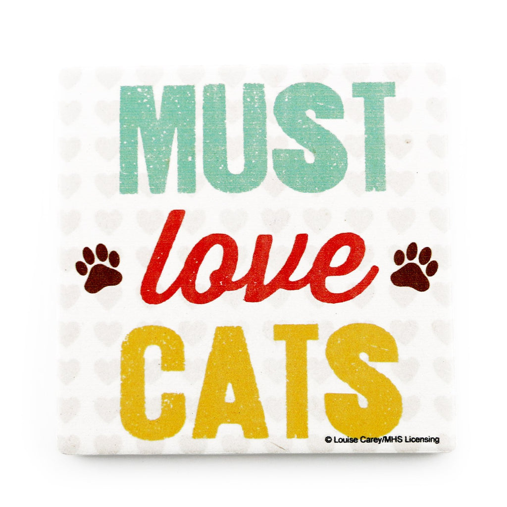 Must Love Cats <br> Coaster