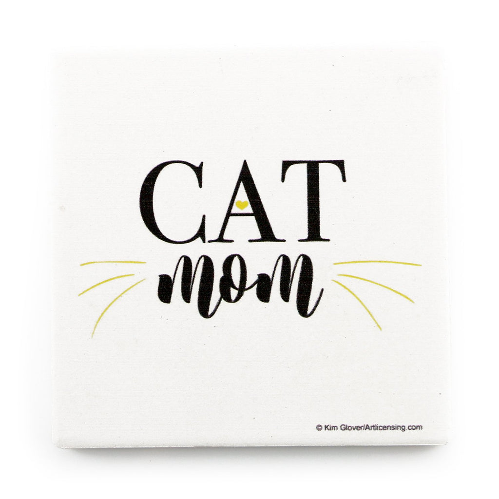 Cat Mom <br> Coaster