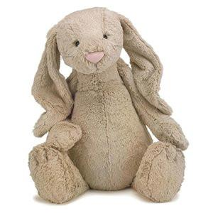 Jellycat Soft Toy Bashful Beige Bunny Huge