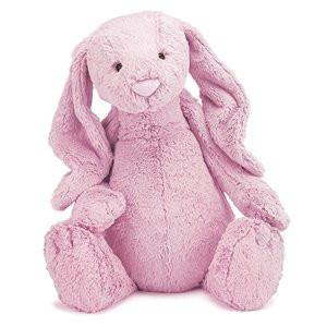 Jellycat Soft Toy Bashful Tulip Pink Bunny Huge