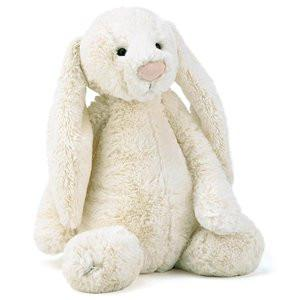 Jellycat Soft Toy Bashful Cream Bunny Large