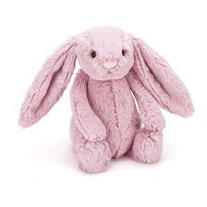 Jellycat Soft Toy Bashful Tulip Pink Bunny Small