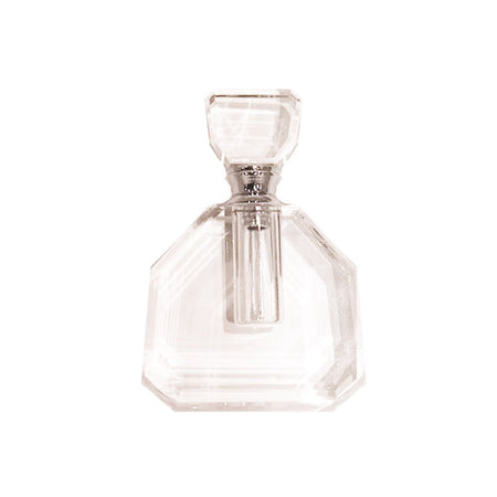 Perfume Bottle Glass Half Moon