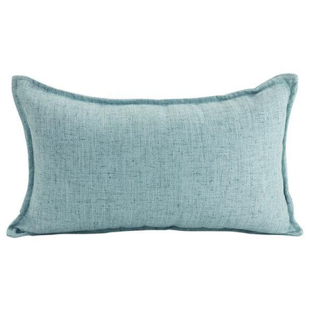 Linen Light Blue Cushion Lumbar