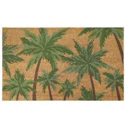 Palms Green Doormat