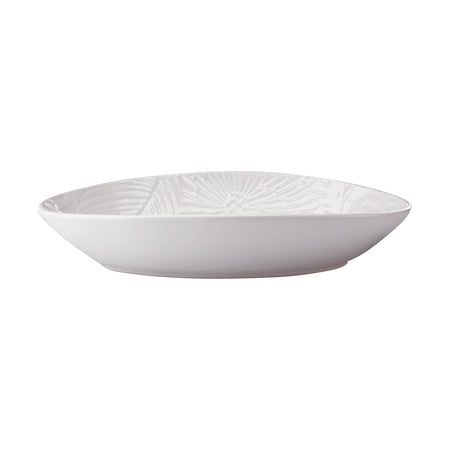 Maxwell & Williams Panama Oval Serving Bowl Small White