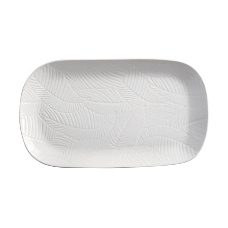 Maxwell & Williams Panama Oblong Platter Small White