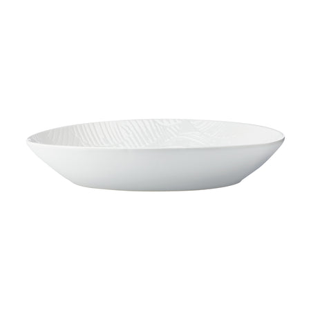 Maxwell & Williams Panama Oval Serving Bowl Large White