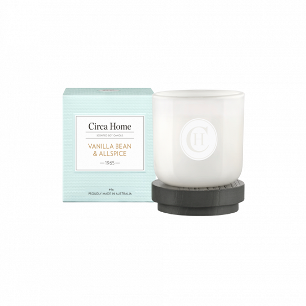 Cire Home Vanilla Bean All Spice 60g Mini Candle