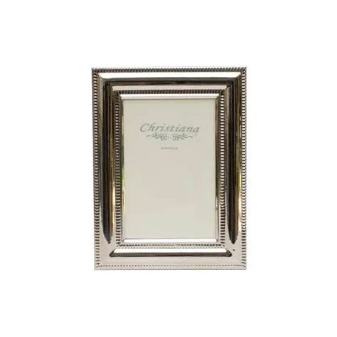 Frame Silver Beaded Medium