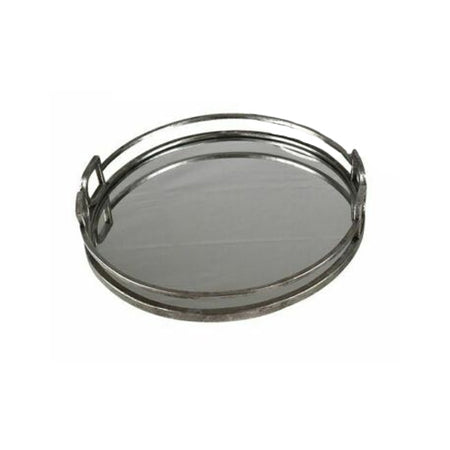 Bridle Metal Tray Silver Large
