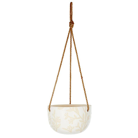 Vera Ceramic Hanging Pot Natural