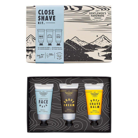 Gentlemens Hardware Close Shave Kit