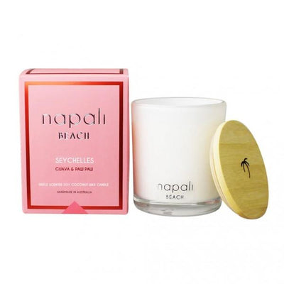 Napali Seychelles Guava & Paw Paw Large Candle