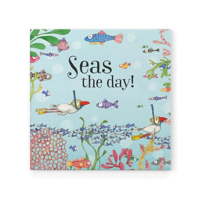 Seas The Day! Magnet