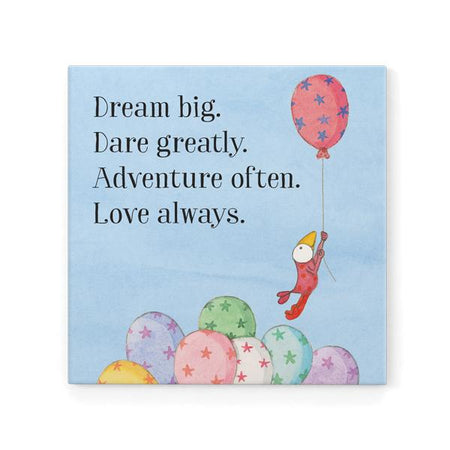 Dream Big Dare Greatly Magnet