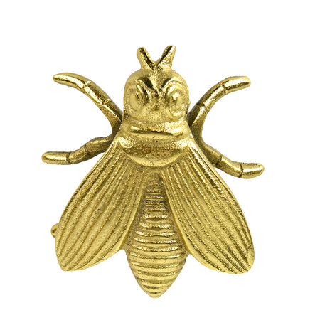 Bert Bee Metal Sculpture Gold