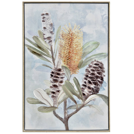 Banksia & Pods Painting