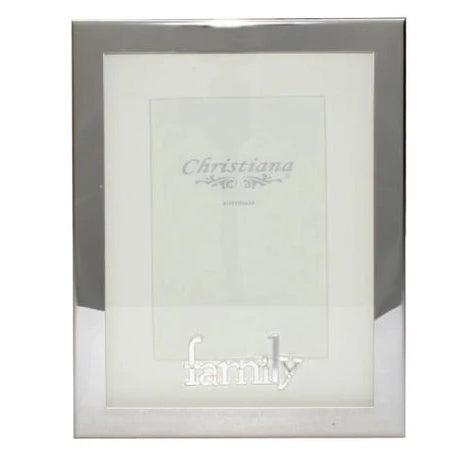 Family Silver Frame Large