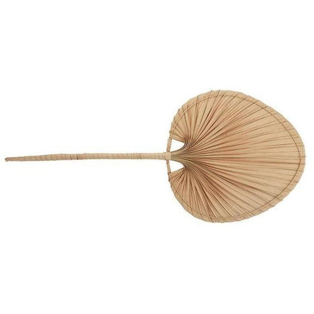 Nyla Palm Leaf Fan Small Natural