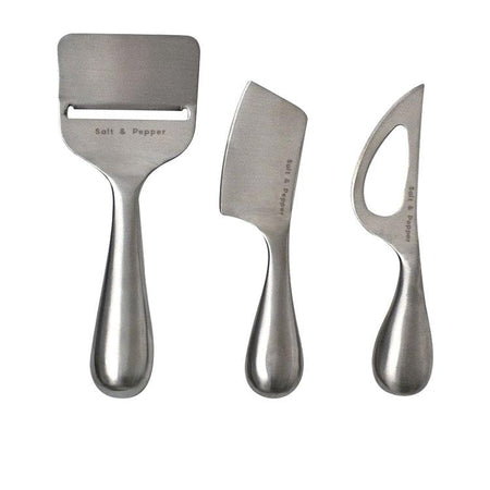 Salt & Pepper Cheese Knife Set of 3