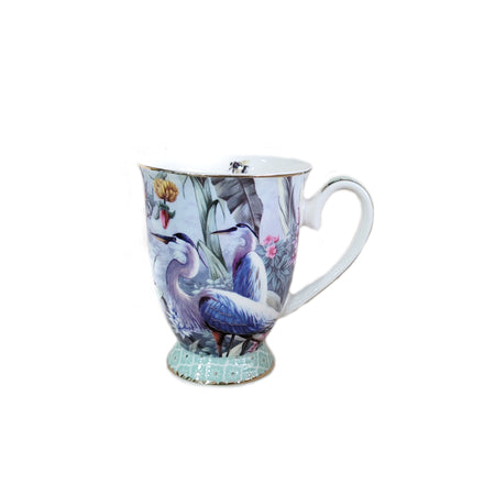 Crane Collection Blue Mug