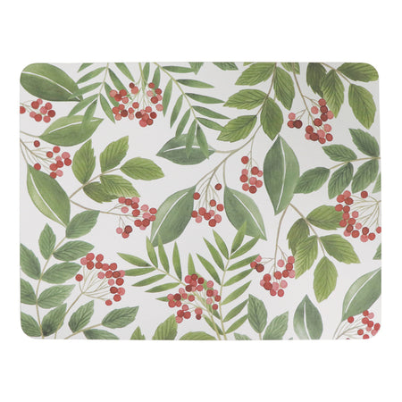 Christmas Sprig Rectangle Placemat Set Of 4